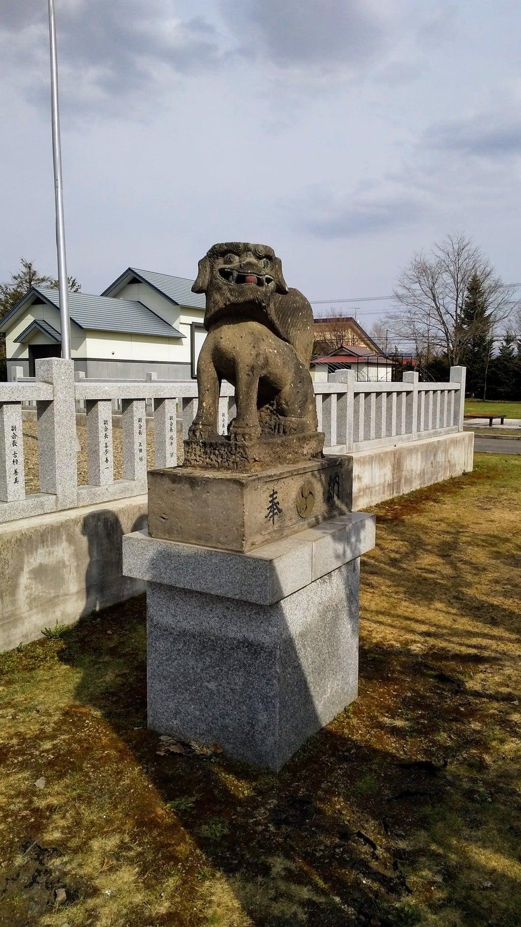 美瑛神社の狛犬