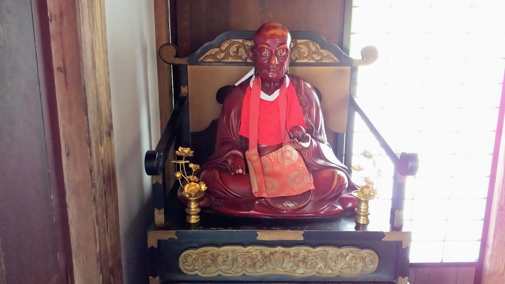 有珠善光寺の仏像