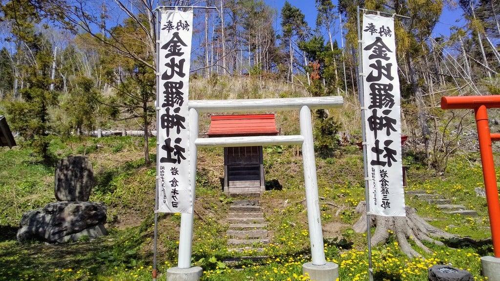 壮瞥神社の鳥居