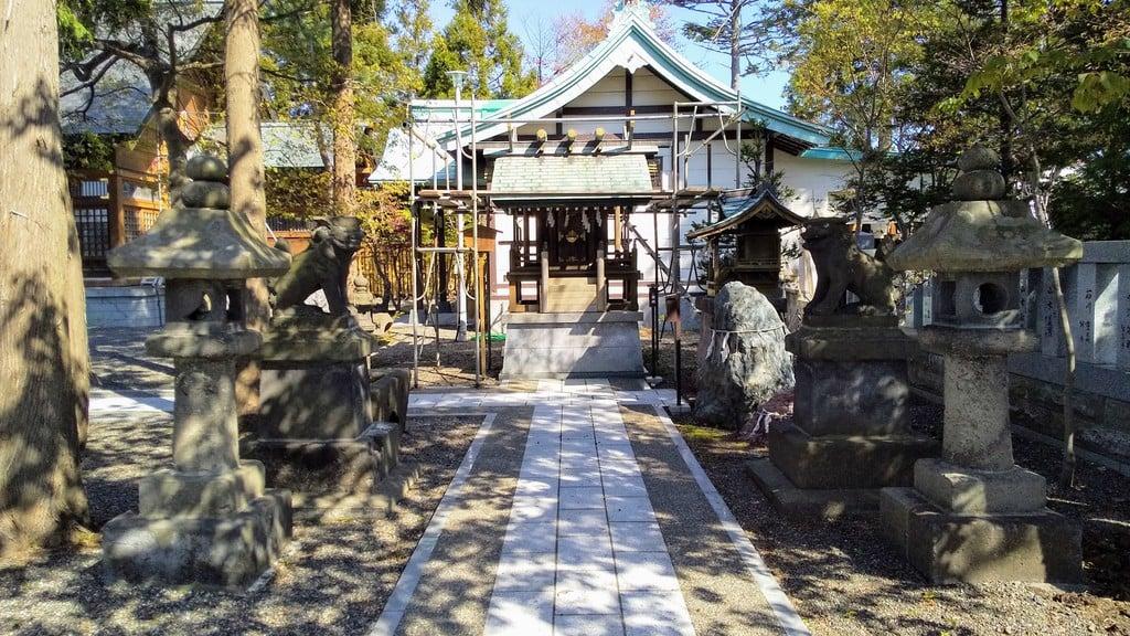 刈田神社の本殿