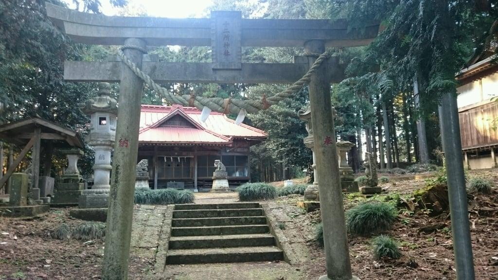 十二所神社の鳥居