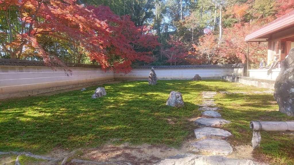 真長寺の庭園