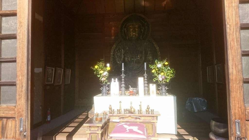 真長寺の仏像