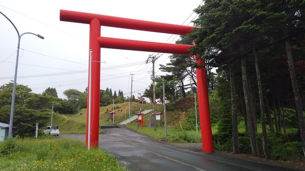 飯生神社の鳥居