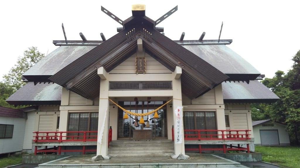 飯生神社の本殿