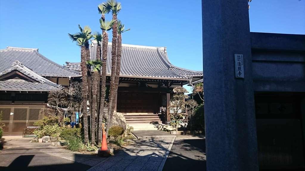 法照寺の本殿
