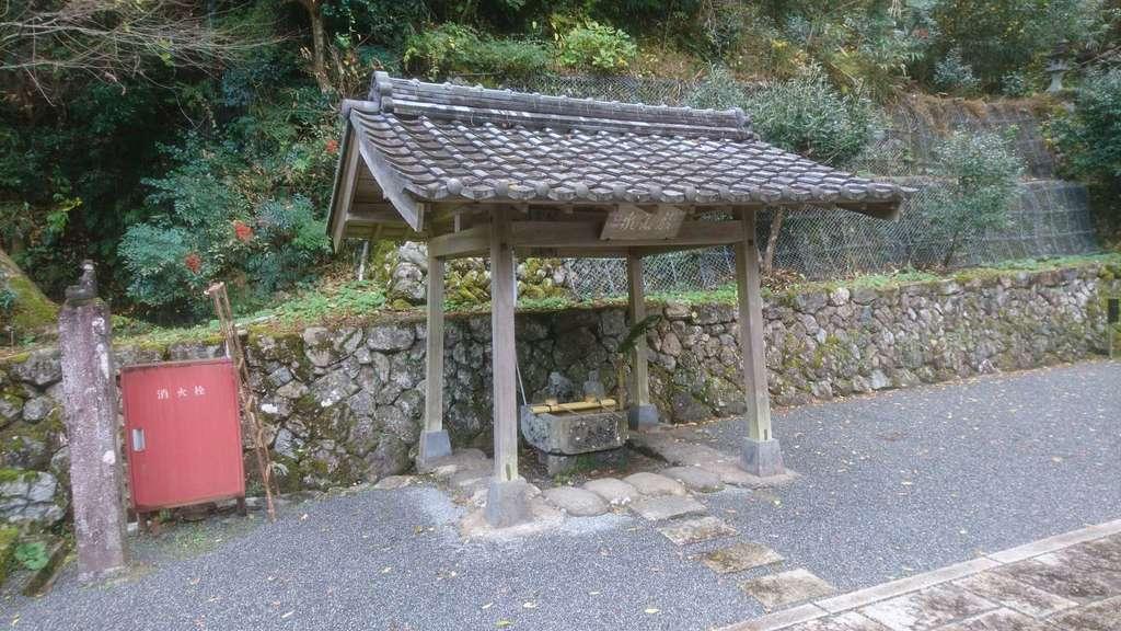 甘南美寺の手水
