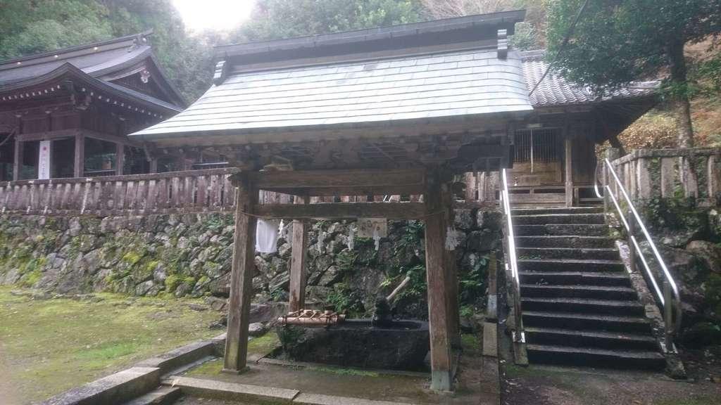 十五社神社の手水