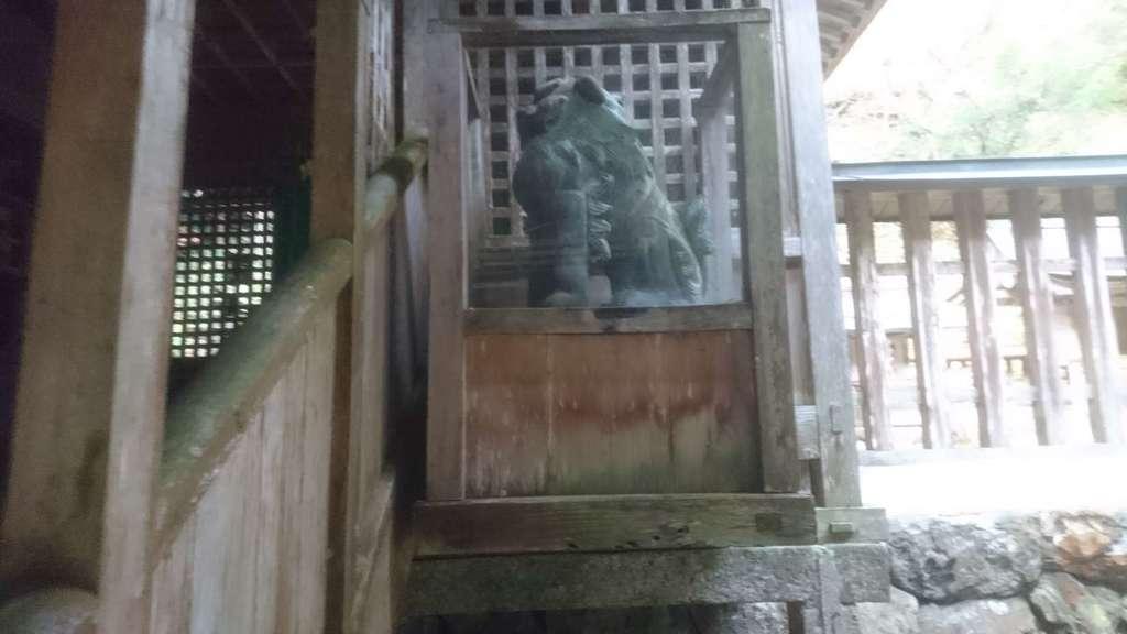 十五社神社の狛犬