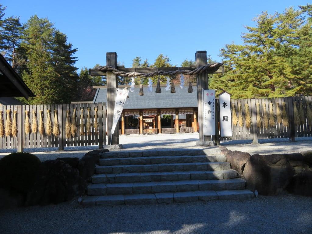 身曾岐神社の本殿