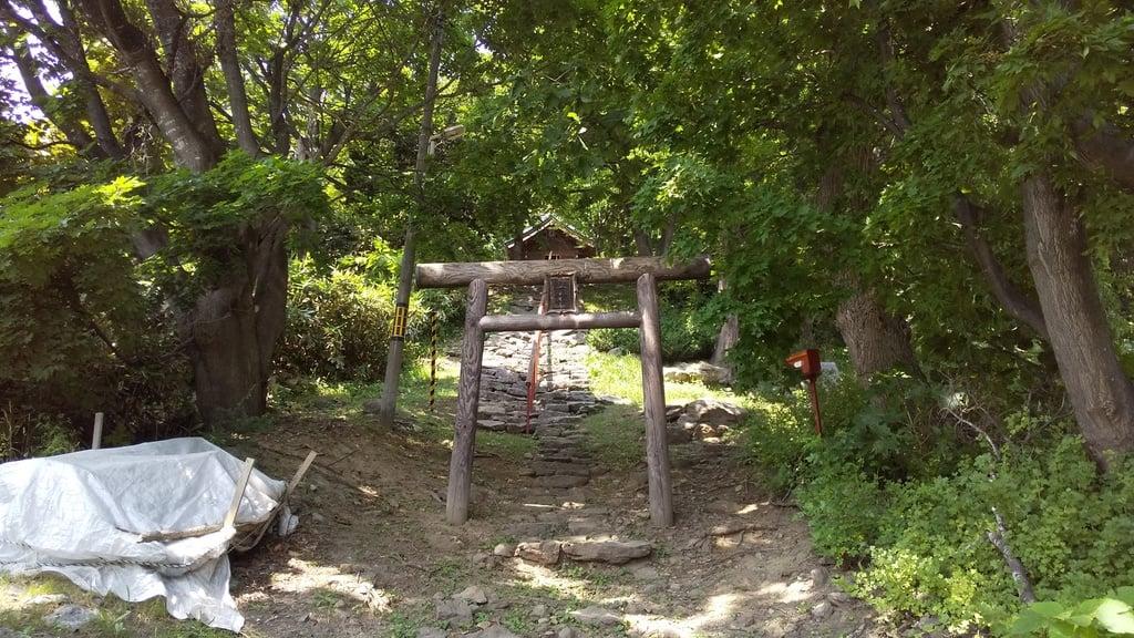 出雲神社の鳥居