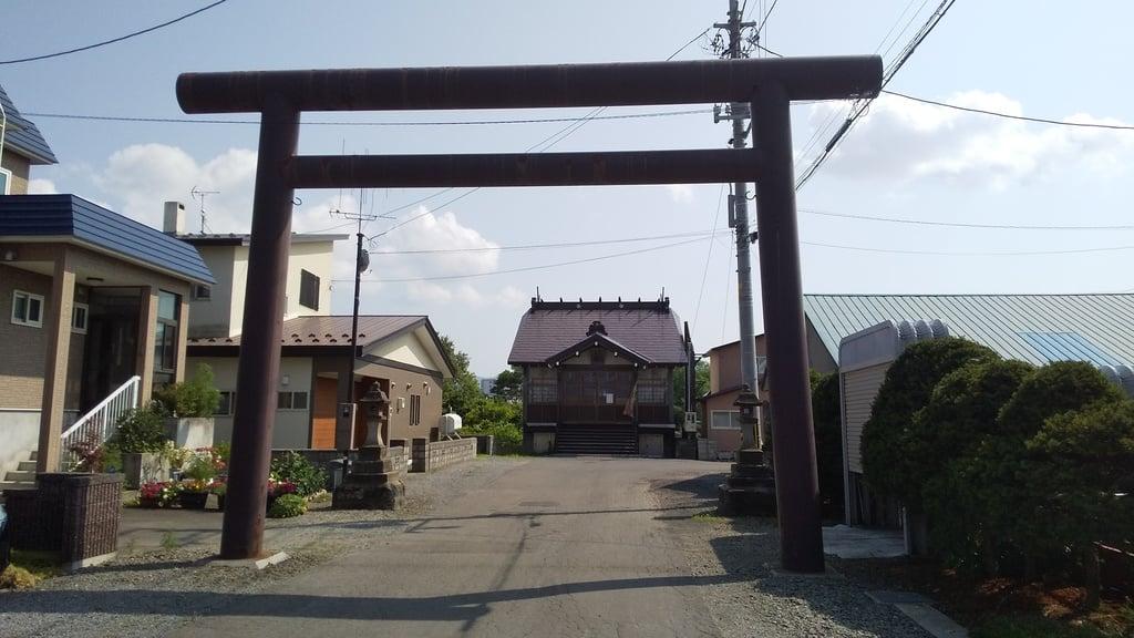余市三吉神社の鳥居