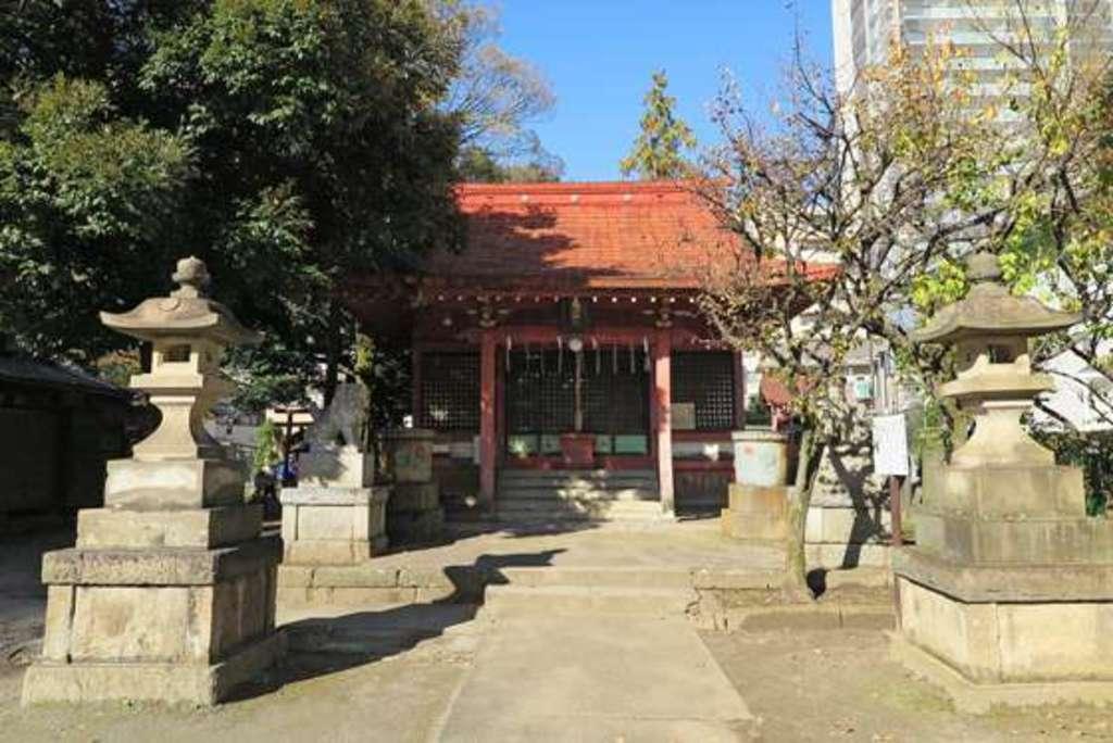 飯塚氷川神社の本殿