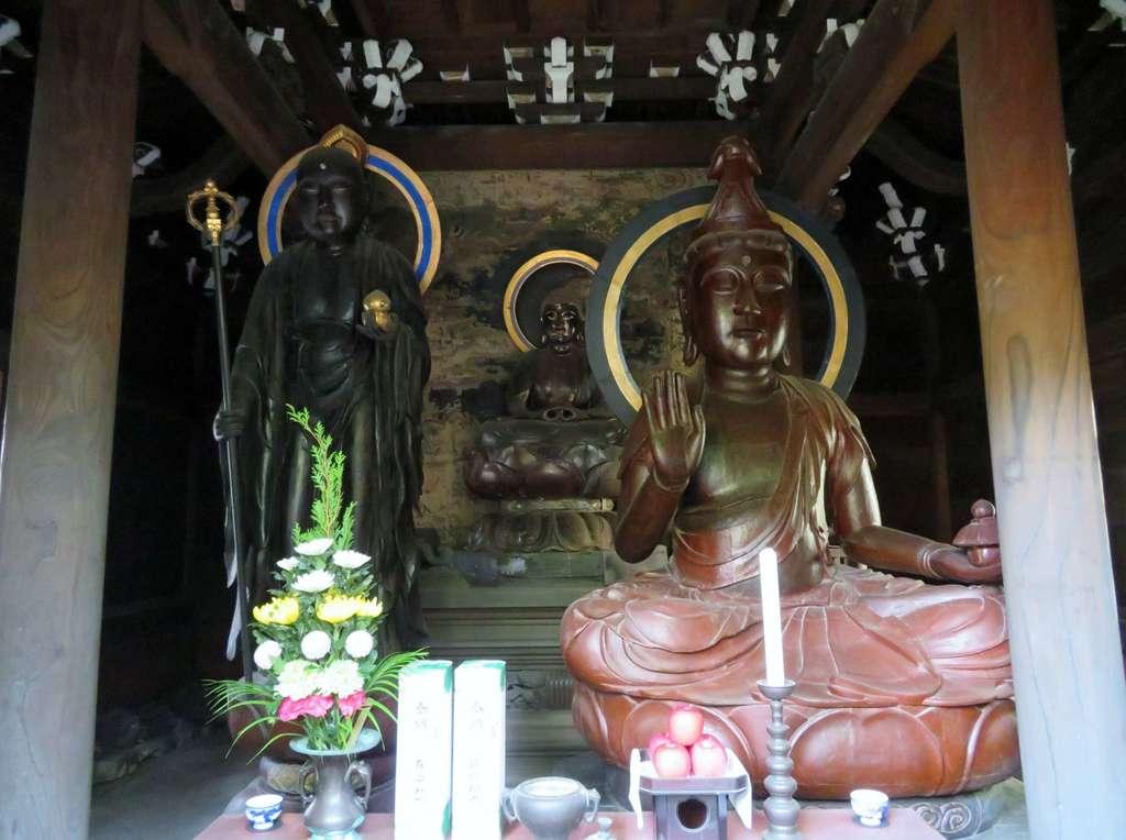 輪王寺の仏像