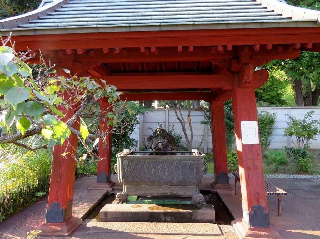 輪王寺の手水