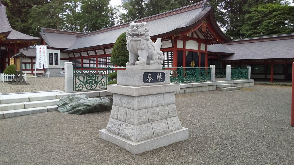 北海道護国神社の狛犬