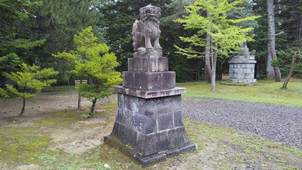上川神社の狛犬