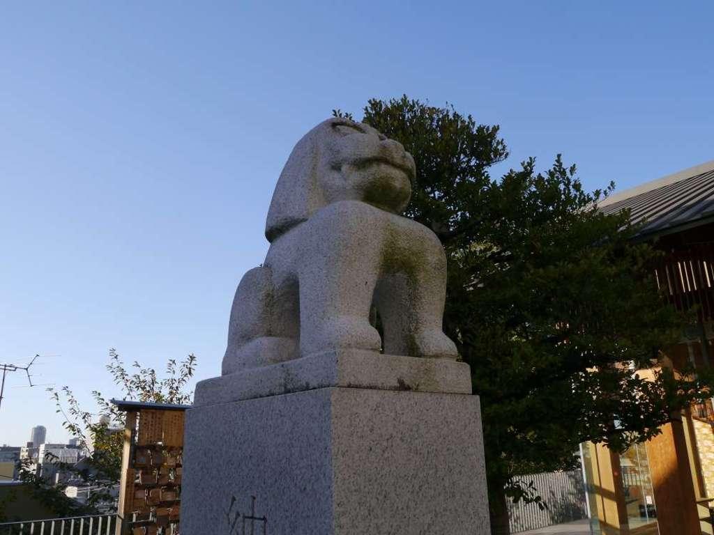 赤城神社の狛犬