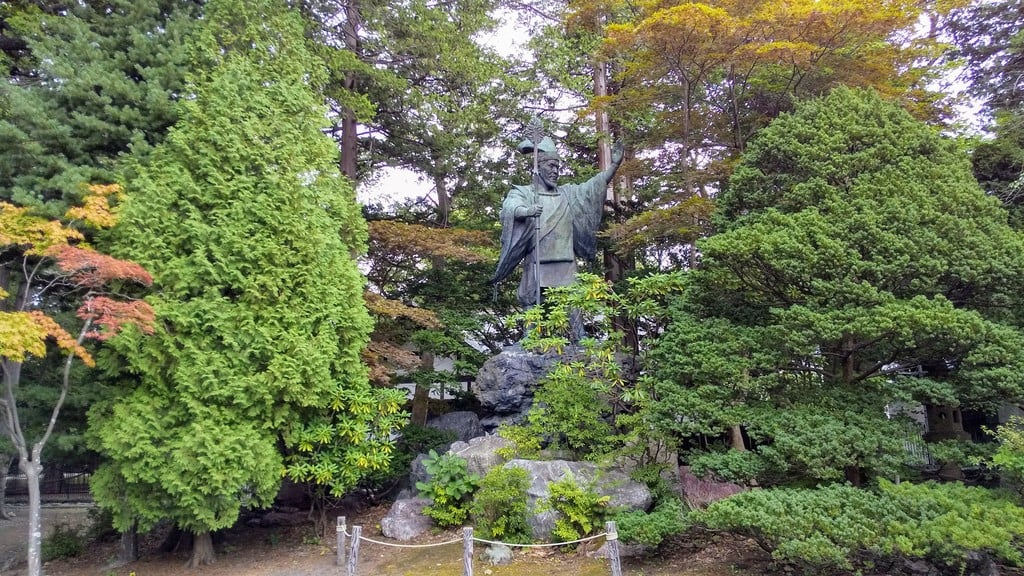 北海道神宮の像