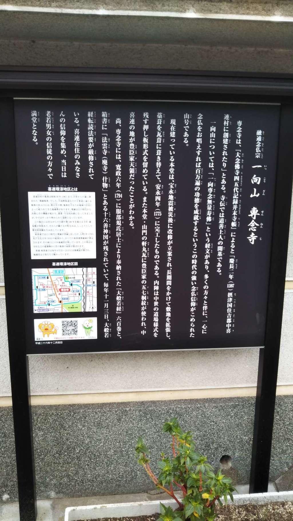 専念寺の歴史