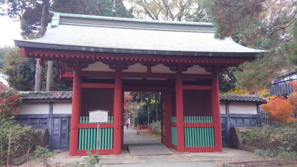 仙波東照宮の山門