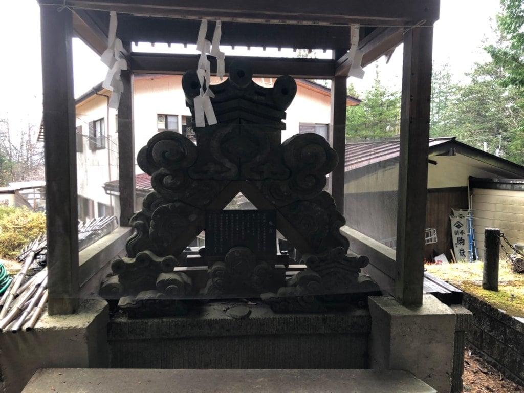 駒ヶ嶽神社(前宮)の建物その他