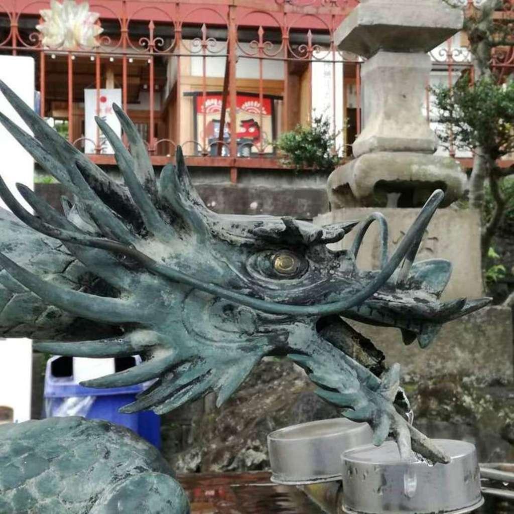 武蔵第六天神社の狛犬