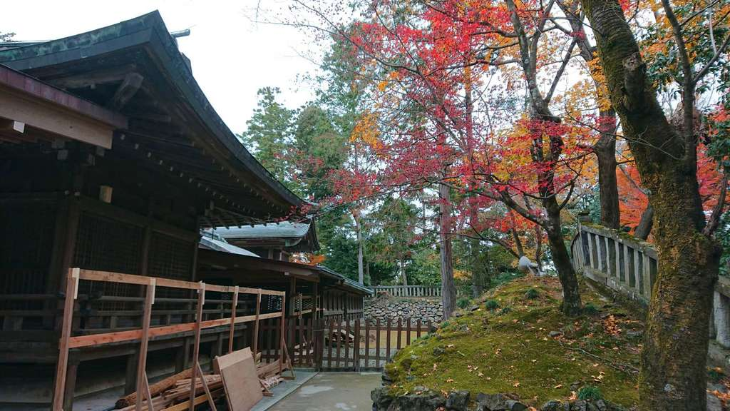 唐澤山神社の建物その他