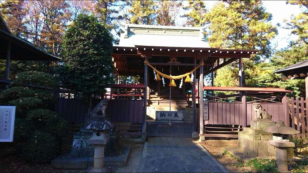 大和田氷川神社の本殿