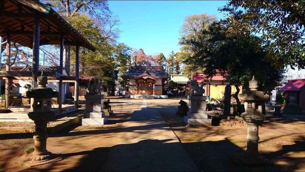 大和田氷川神社の建物その他