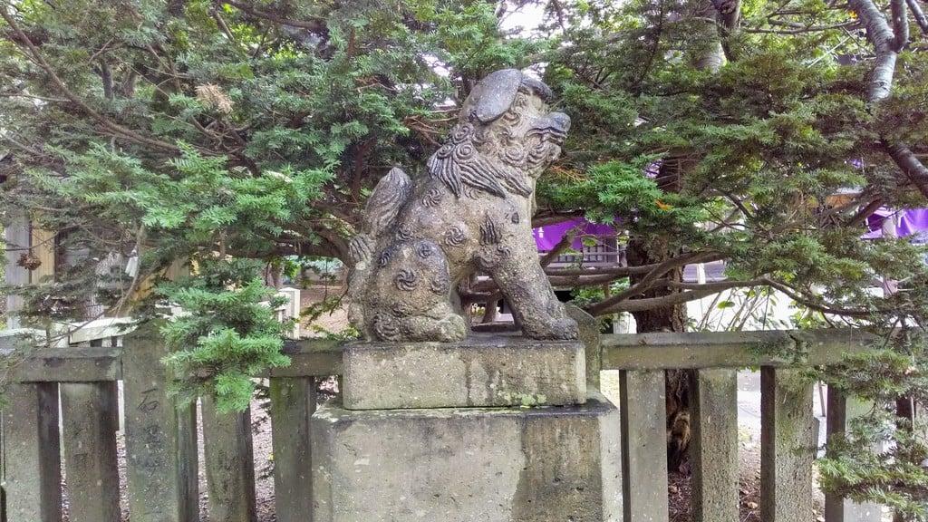 石狩八幡神社の狛犬