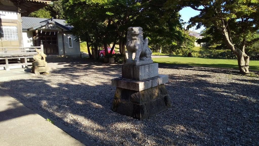 住吉神社の狛犬