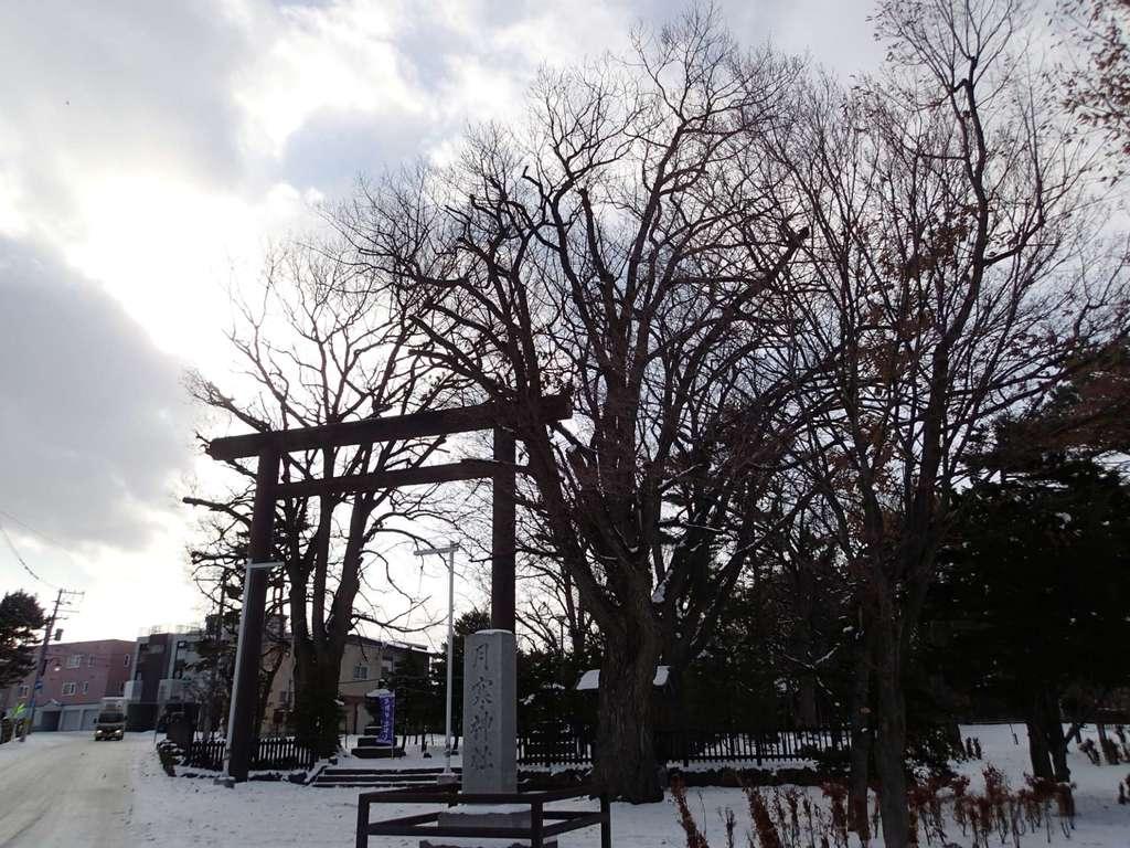 月寒神社の鳥居