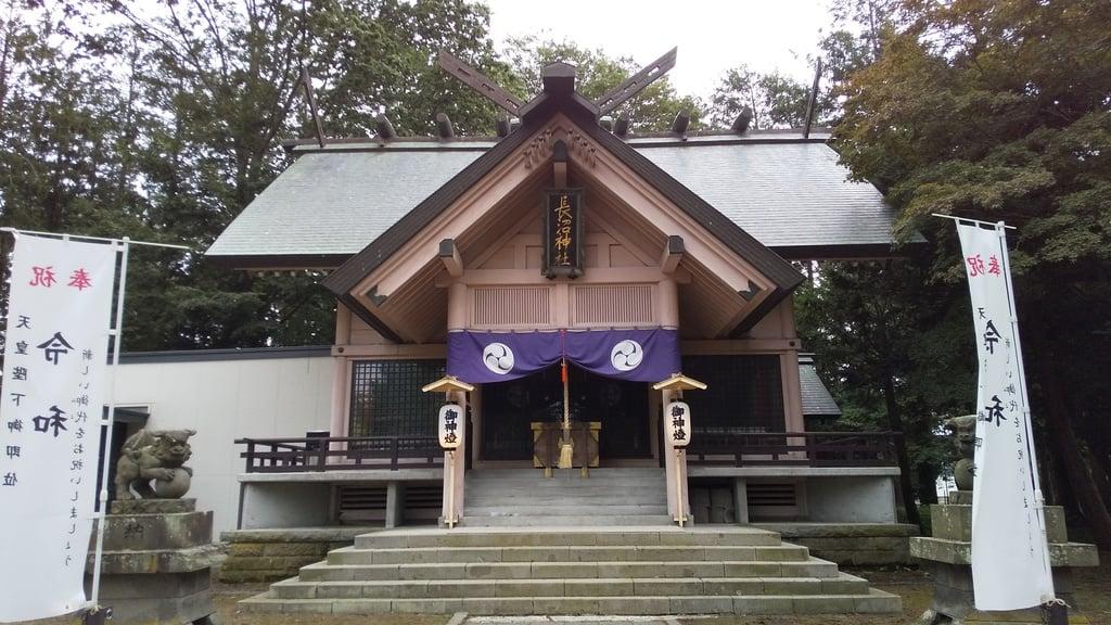 長沼神社の本殿