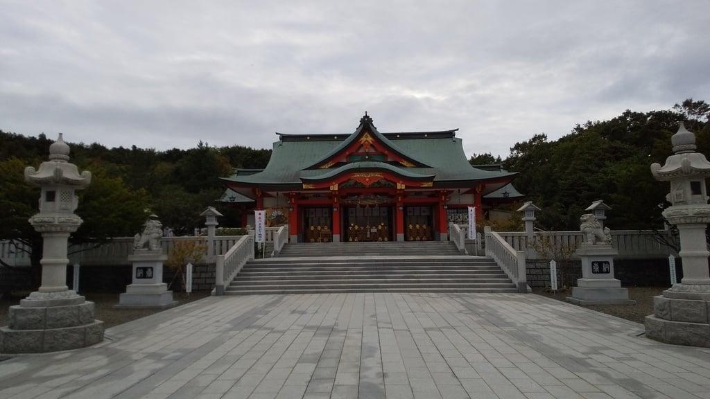樽前山神社の本殿
