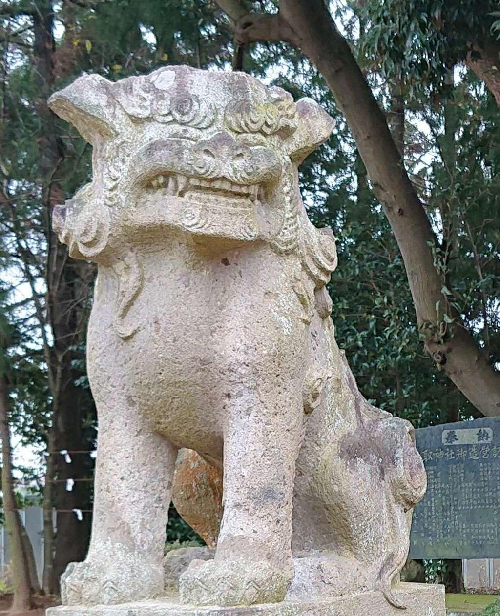 伏木香取神社の狛犬
