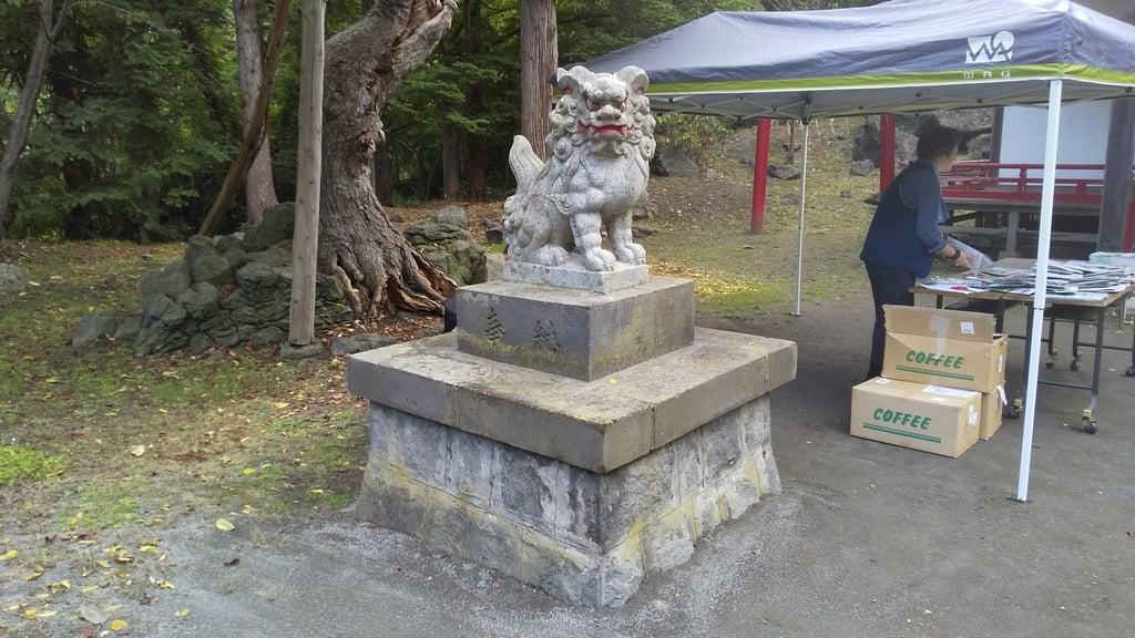 大臼山神社の狛犬