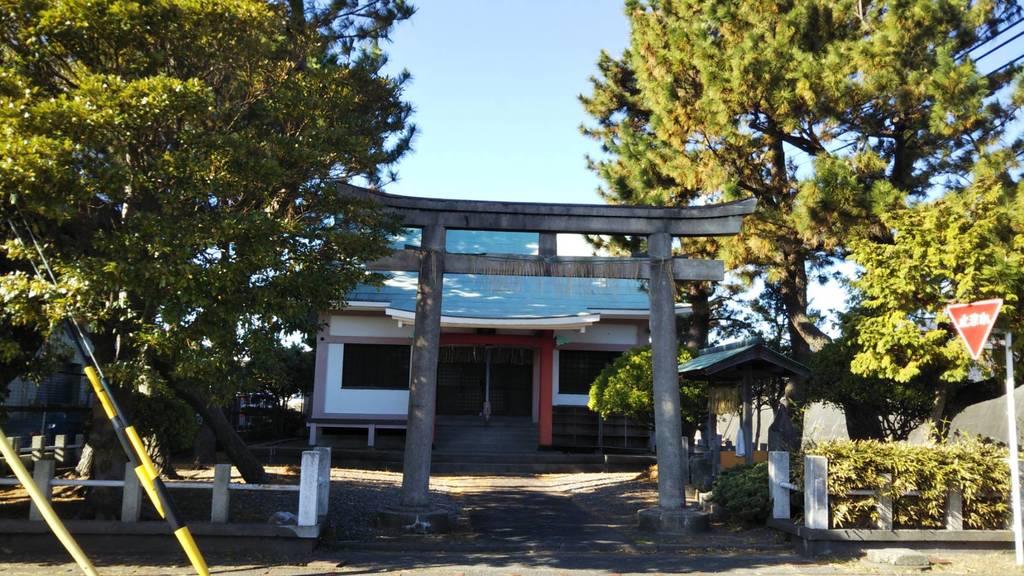 宗像神社の鳥居