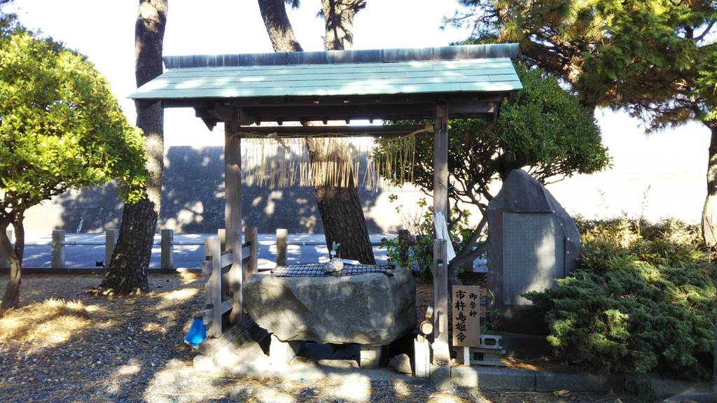 宗像神社の手水