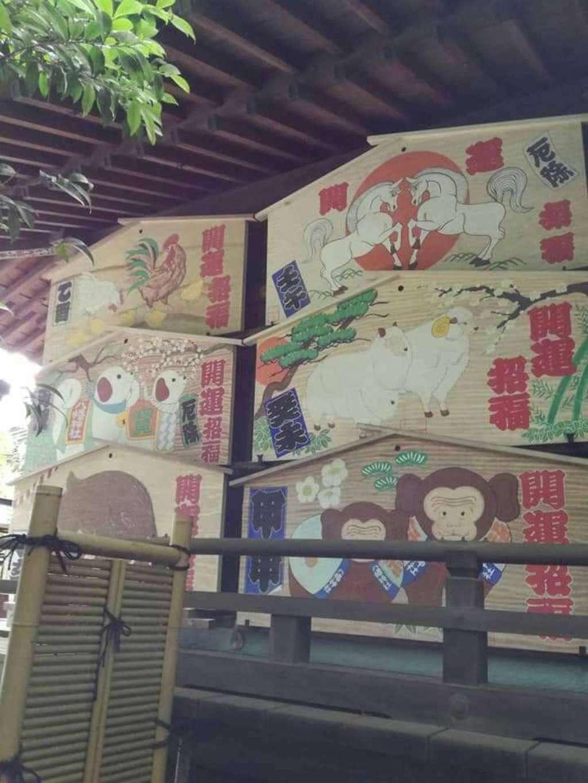 春日部八幡神社の絵馬