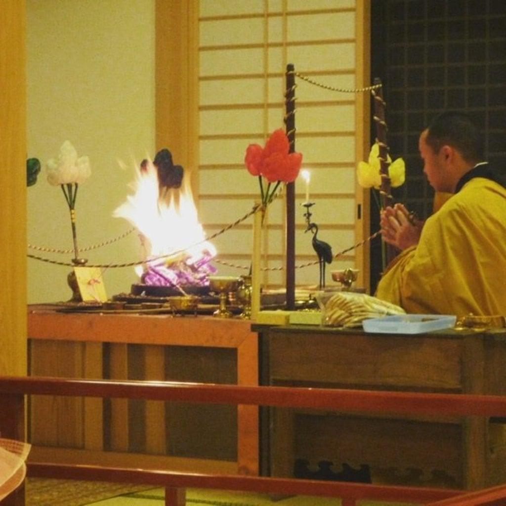 法話と天井絵の寺 觀音寺(徳島県)