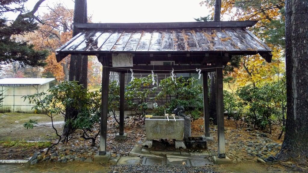 大正神社の手水
