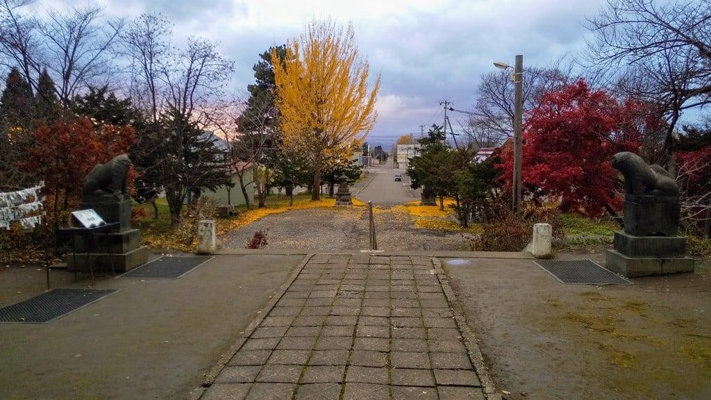 江部乙神社の景色