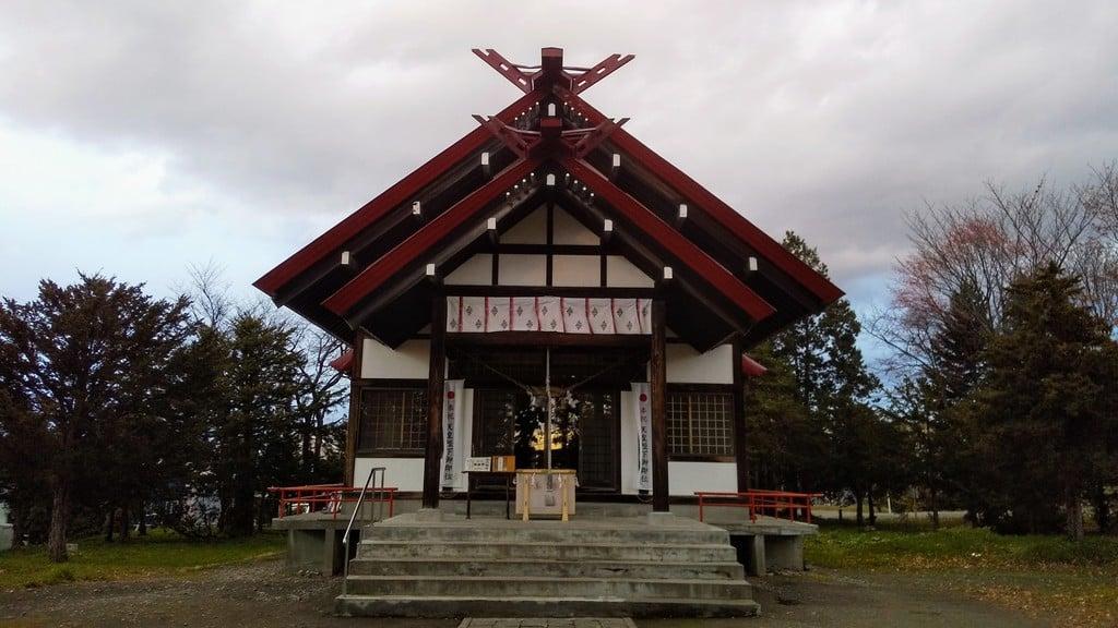 江部乙神社の本殿