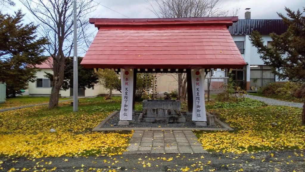 江部乙神社の手水
