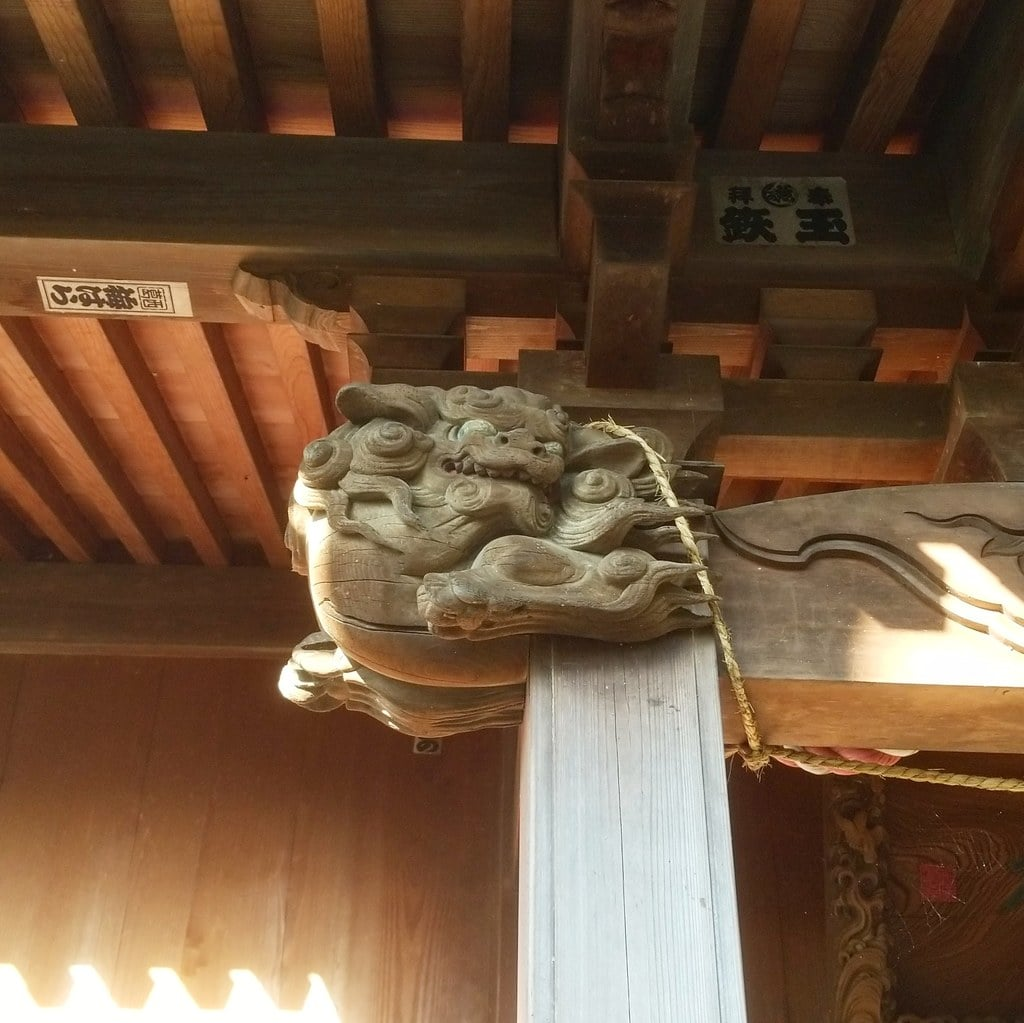 篠崎浅間神社の芸術