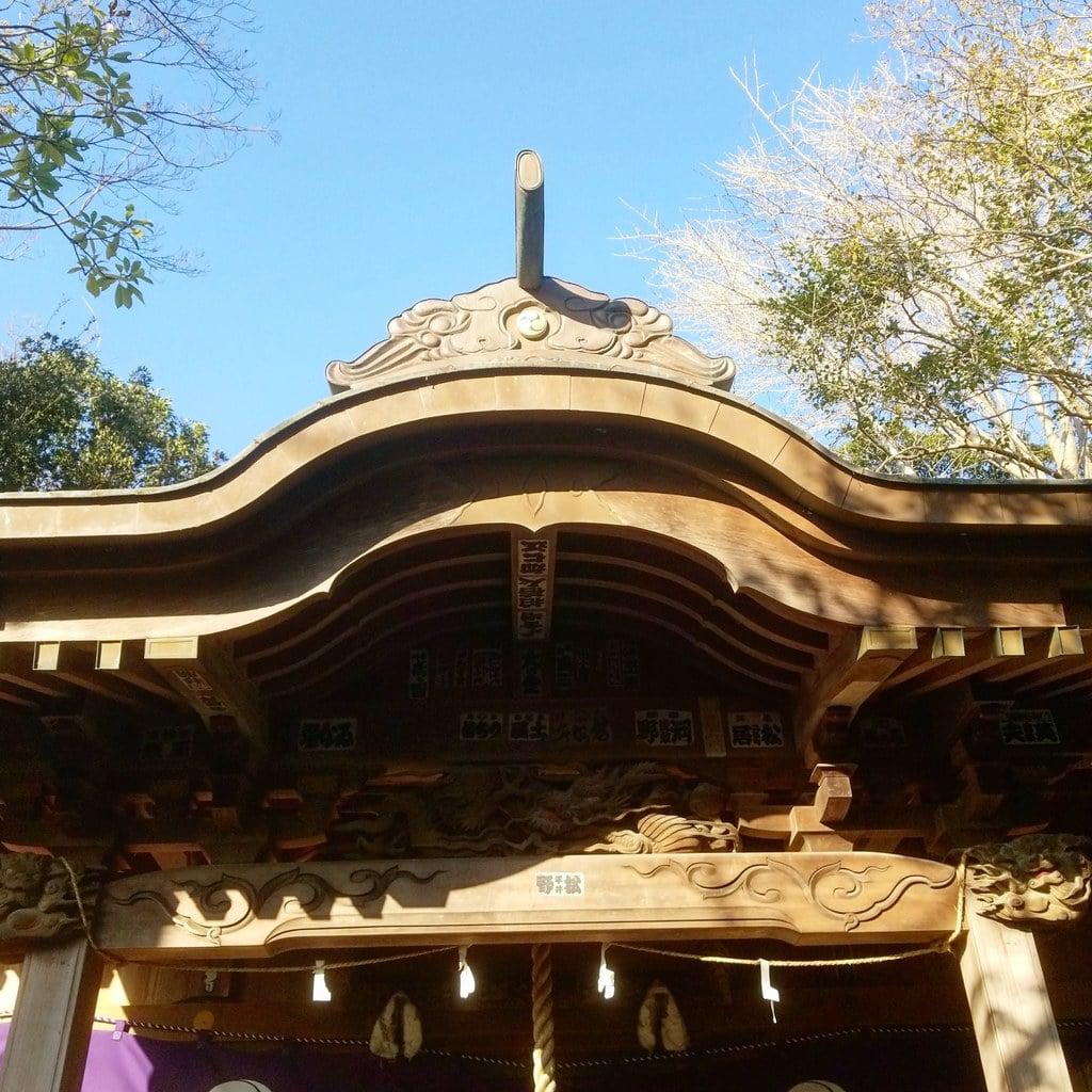 篠崎浅間神社の建物その他