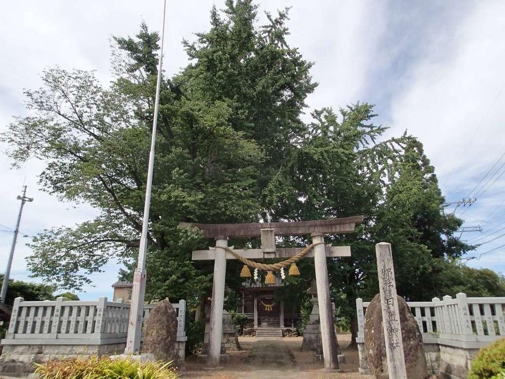 日置神社の鳥居