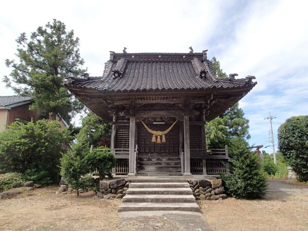 日置神社の本殿