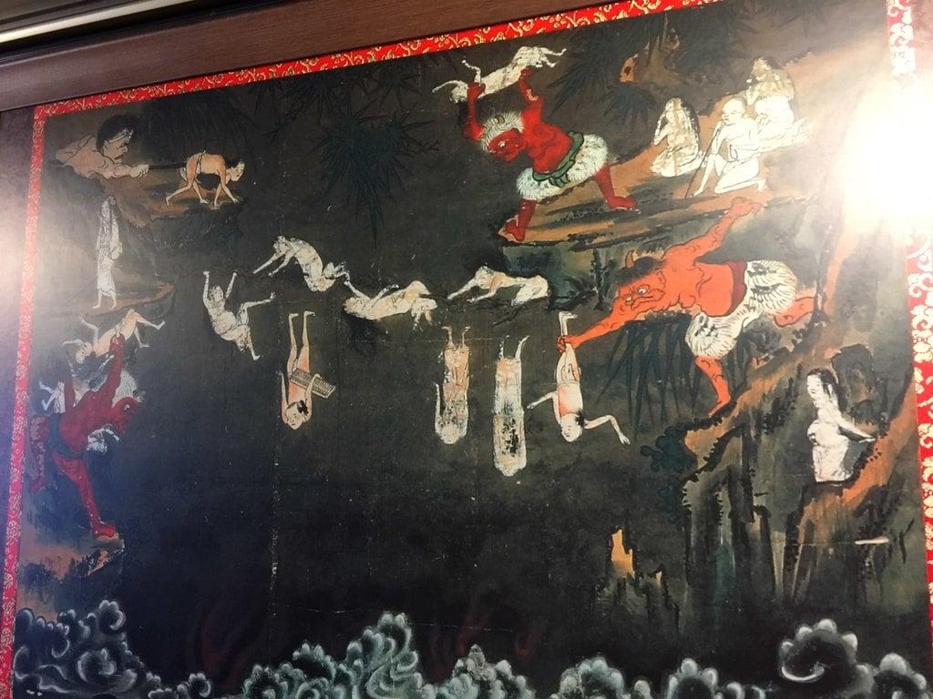 法乗院(深川閻魔堂)の芸術